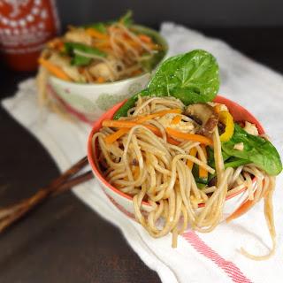 Sriracha Soba Noodle Bowl