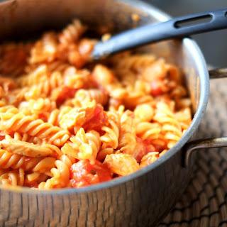 Coconut Cream and Tomato Chicken Pasta Recipe