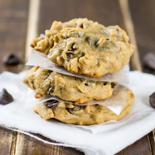 Flourless Peanut Butter Oatmeal Chocolate Chip Cookies Recipe