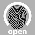 open biometric icon