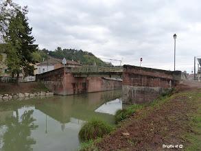 Photo: Départ le long du canal latéral de la Garonne