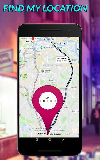 GPS Satellite Maps Direction & Navigation 1.0 screenshots 10