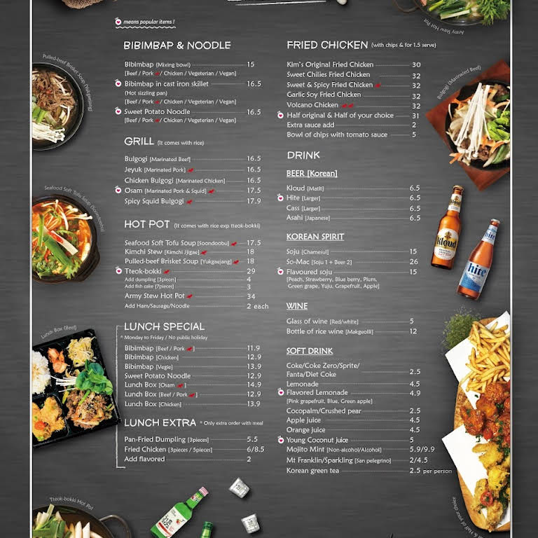 Kim S Asian Kitchen Korean Restaurant In Mawson Lakes