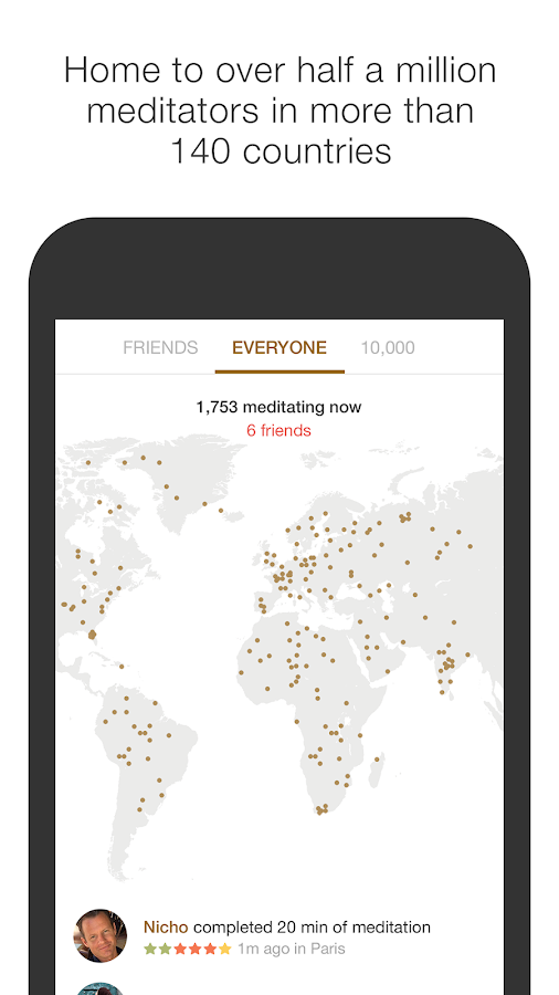 Insight Timer Meditation Timer- screenshot