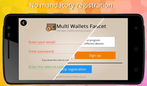 Multi Wallets Faucet