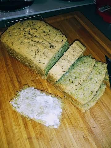 Keto Dill Rye Bread