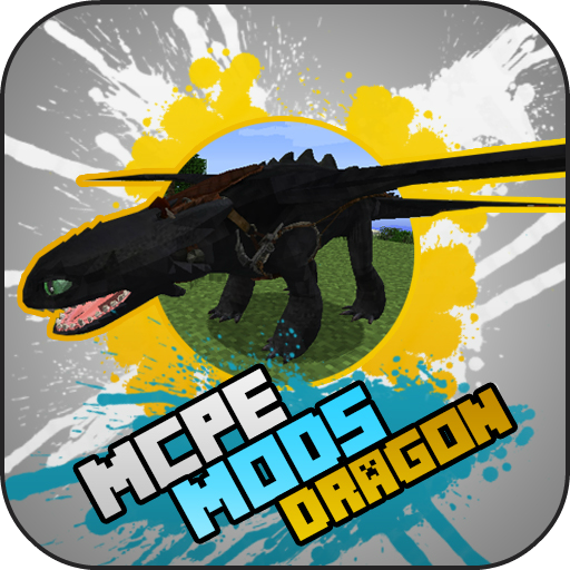DRAGON MODS For MCPE Pack