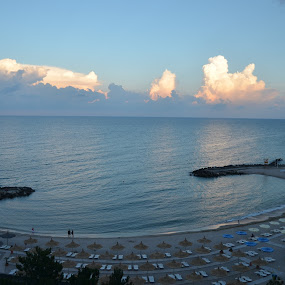 Olimp Clouds by Alina Vicu - Landscapes Waterscapes ( clouds, beaches, waterscape, sea, seascape,  )