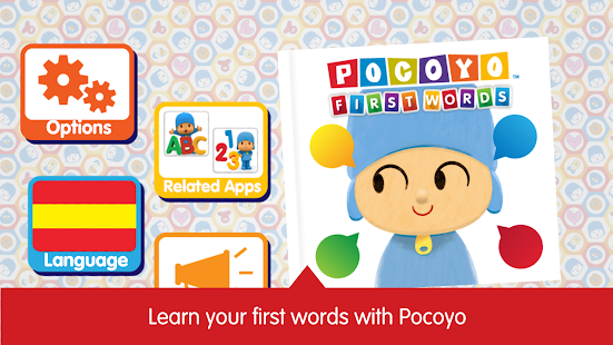 Pocoyo First Words Free - náhled