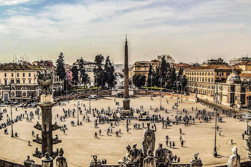 Piazza del popolo - Roma di albertocastagnaphoto
