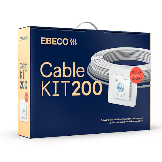 Ebeco Cable Kit 200 1710W / 155m (10,7-22,7 m²)