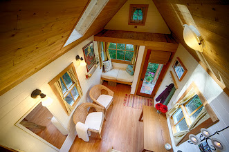 Photo: View from the sleeping loft.