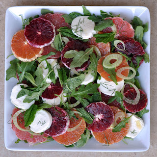 Citrus Salad with Fennel, Arugula, & Mozzarella