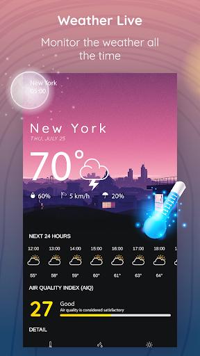 Weather Live 1.39.4 screenshots 1