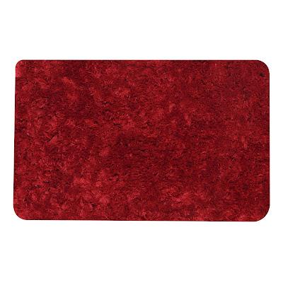 Коврик для ванной Red Coral 50х80 см красный