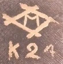 Photo: M in a diamond. Similar to the Amita mark.