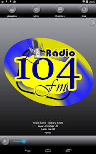 Rádio 104 FM- screenshot thumbnail