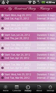 App My Menstrual Diary APK for Windows Phone