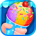 Summer Snow Cone - Icy Rainbow Food Maker icon