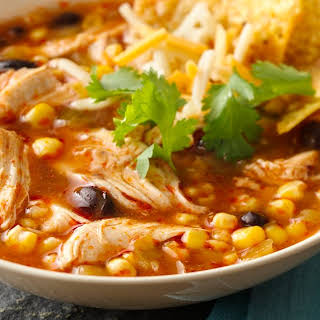 Slow-Cooker Chicken Enchilada Soup.