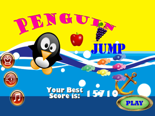 Penguin Happy Jump games