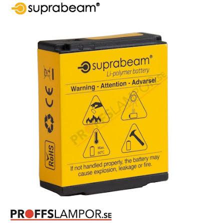 Tillbehör Batteri Suprabeam 1400 mAh, 5.18 Wh / 3.7 V