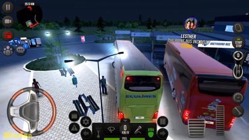 Modern Heavy Bus Coach: Public Transport Free Game  screenshots 4