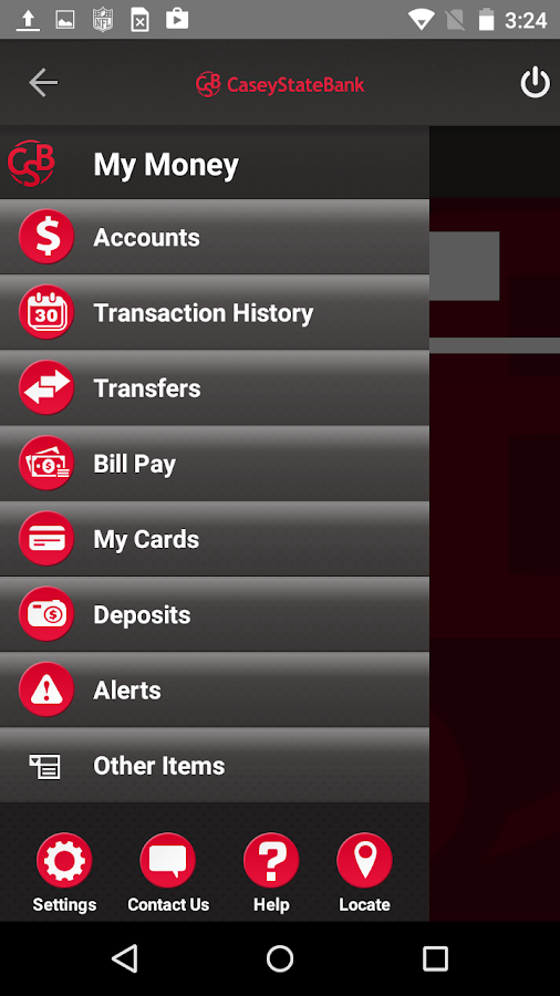 Casey State Bank Mobile- screenshot
