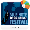 XPERIA™ Blue Note Theme icon