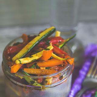 Mixed Vegetable Salad with Sumac Vinaigrette