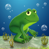Frog in the Sea