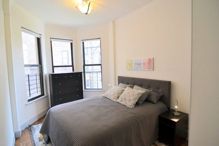 Bedroom at Brooklyn apartment