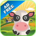 Farm Animal Sounds & Games icon