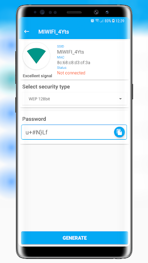 Free Wifi Password Key Generator v1.0.3.4 screenshots 2