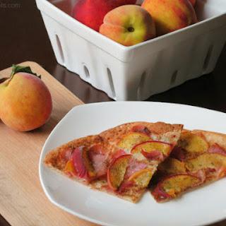 Prosciutto Peach Pizza