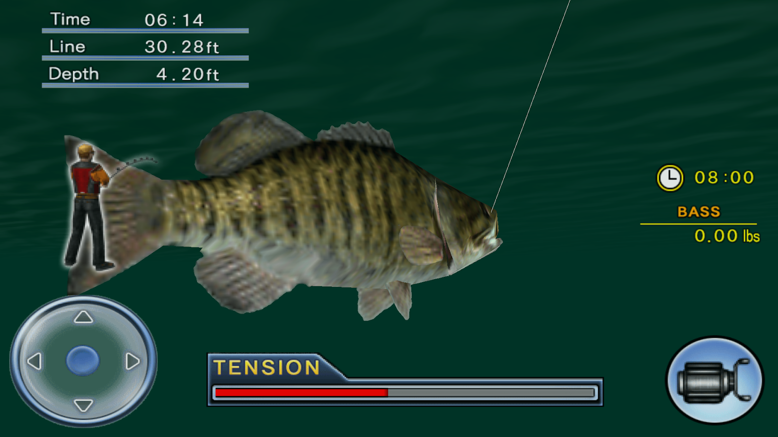 Bass fishing 3d on the boat android apps on google play for Bass pro shop fishing games