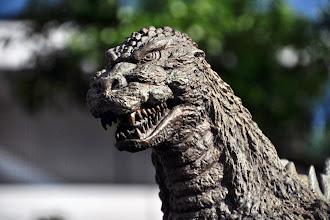 Photo: Godzilla, Yúrakuchó állomás