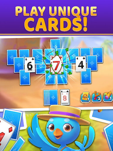 Puzzle Solitaire - Tripeaks Escape with Friends android2mod screenshots 8