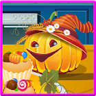 Candy bar cupcakes icon