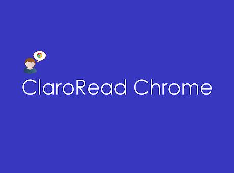 ClaroRead Chrome Test
