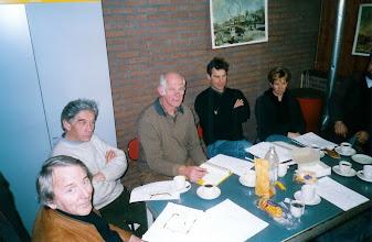 Photo: Vergadering feestcommisie 2003