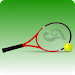 How to play tennis icon