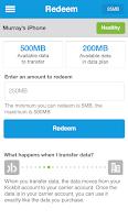 Screenshot of Kickbit, Free Mobile Data