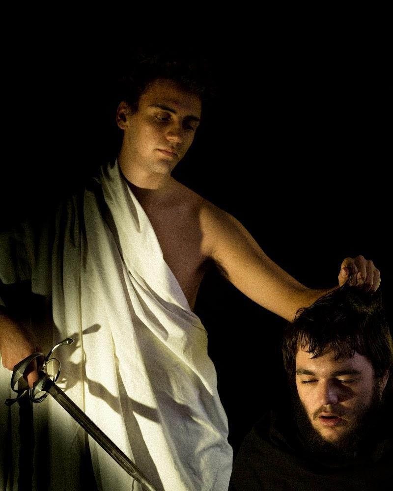 Davide con la testa di Golia. Caravaggio. di Amber_Bright