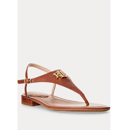 Ellington Sandals, deep sadel tan
