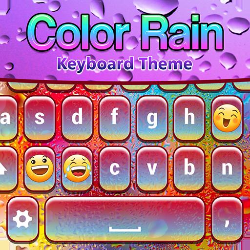 Color Rain Keyboard Theme Icon