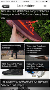 Sneaker Release Dates- screenshot thumbnail