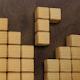 rompecabezas de cubo de madera - leyenda del bloque