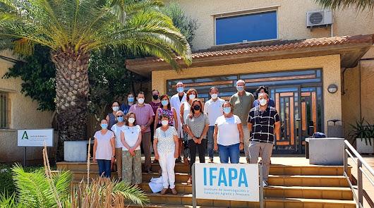 Ifapa La Mojonera y Las Chozas ayudan en el provecho agrícola del alga asiática