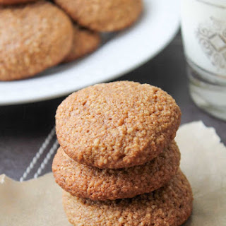 Ginger Almond Cookies - Gluten Free